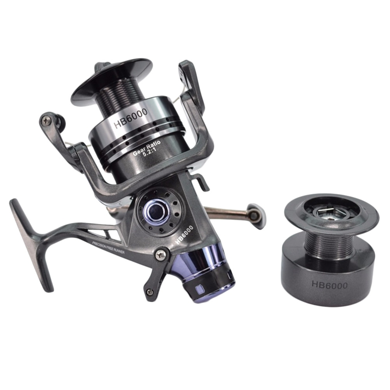 1X-Hirisi-Spinning-Fishing-Reel-For-Carp-Fishing-Free-Extra-Spool-X4A7 thumbnail 9