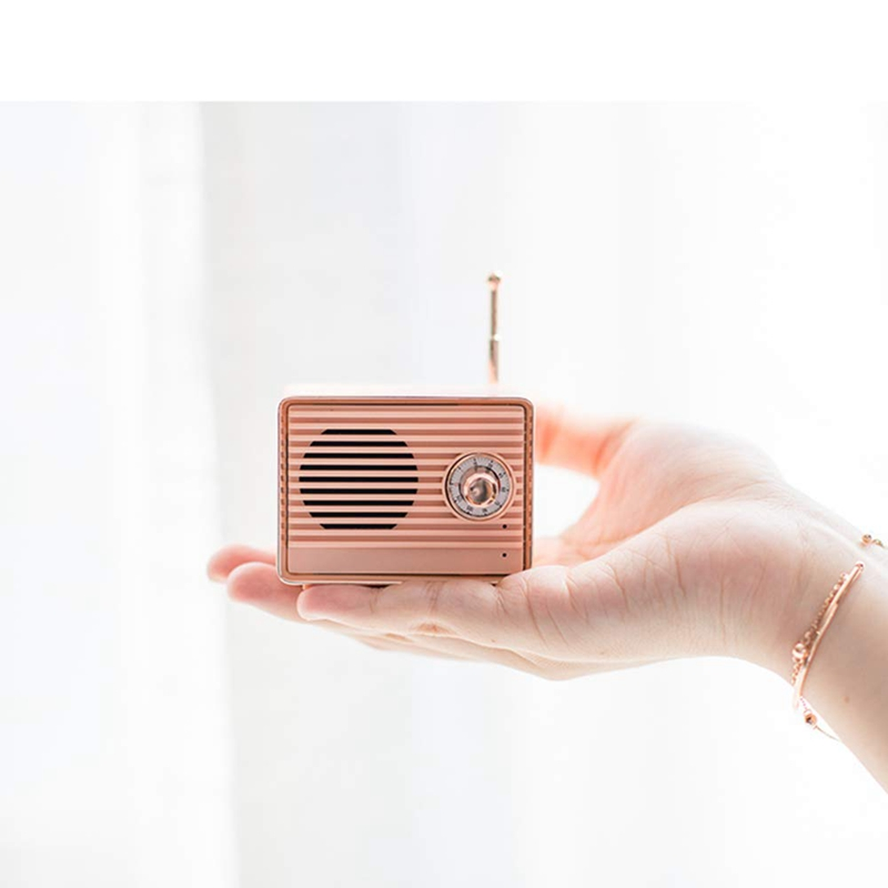 Retro-Bluetooth-Speaker-Vintage-Mini-Cute-Bluetooth-Speaker-Nostalgic-Heavy-Y4D1 thumbnail 5