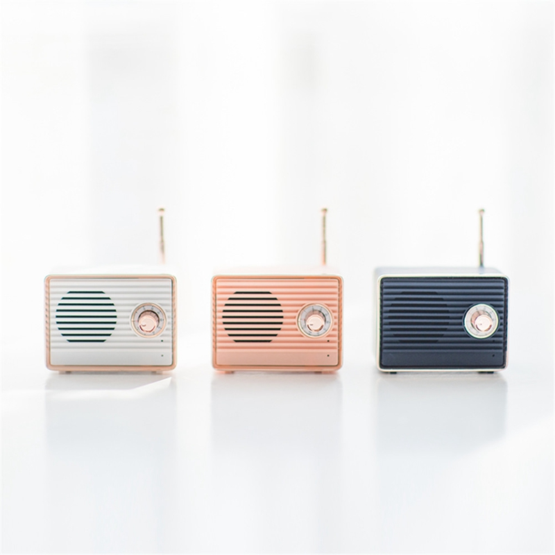 Retro-Bluetooth-Speaker-Vintage-Mini-Cute-Bluetooth-Speaker-Nostalgic-Heavy-Y4D1 thumbnail 10