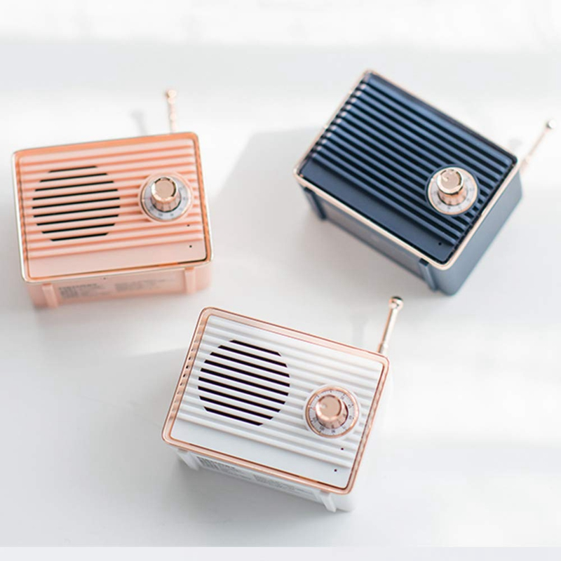Retro-Bluetooth-Speaker-Vintage-Mini-Cute-Bluetooth-Speaker-Nostalgic-Heavy-Y4D1 thumbnail 19