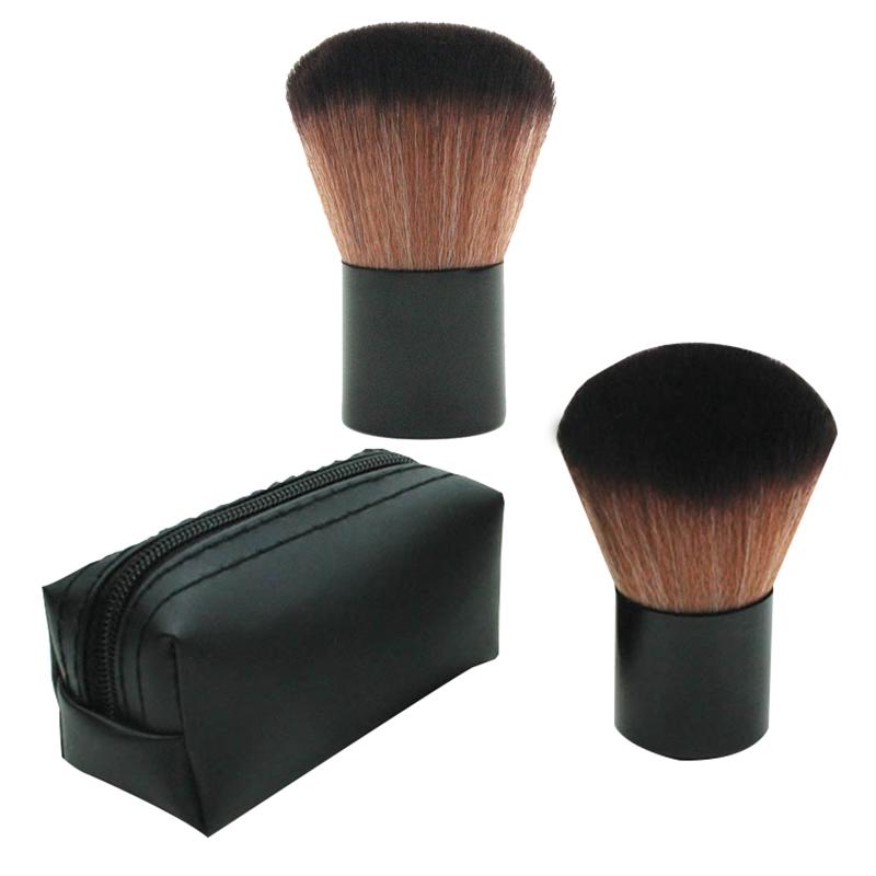 1Pcs-Black-Makeup-Brushes-Powder-Cosmetic-Brush-Face-Blush-Contour-Brush-Bl-M8T2 thumbnail 9