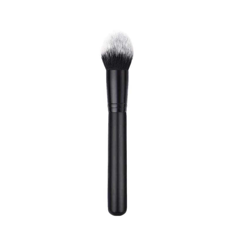Black-Brush-1Pcs-Face-Loose-Powder-Blush-Makeup-Brushes-Wood-Handle-Blendin-R3U1 thumbnail 2