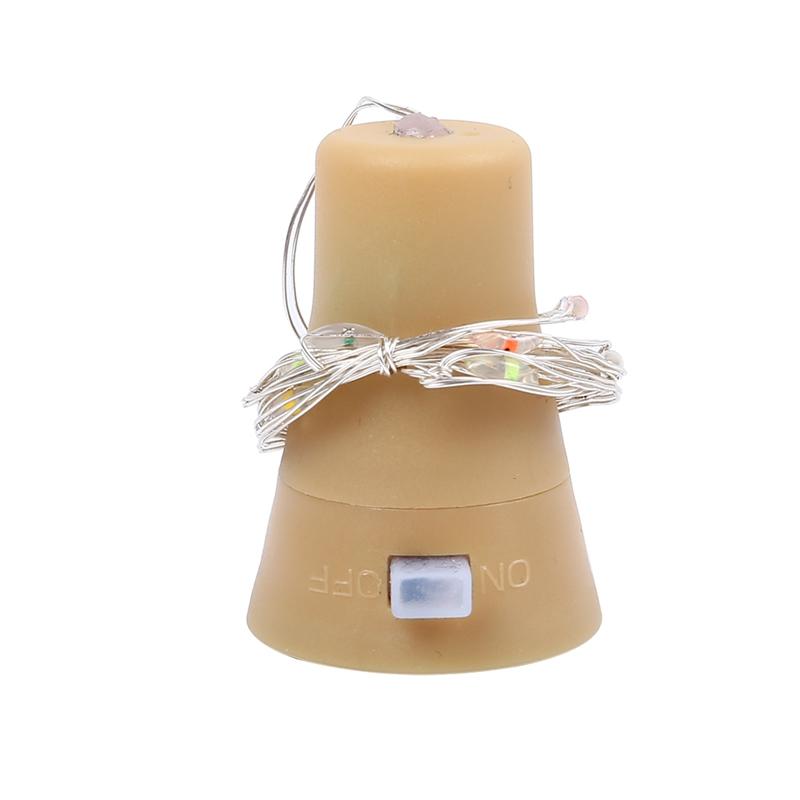 5-Pack-Solar-Powered-Wine-Bottle-Lights-10-Led-Waterproof-Warm-White-Copper-T2J9 thumbnail 4