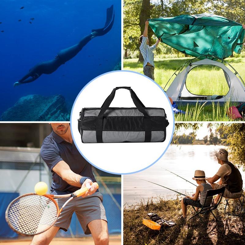 Outdoor-Diving-Equipment-Bag-Diving-Equipment-Bag-Collapsible-Net-Bag-Divin-V9K8 thumbnail 12