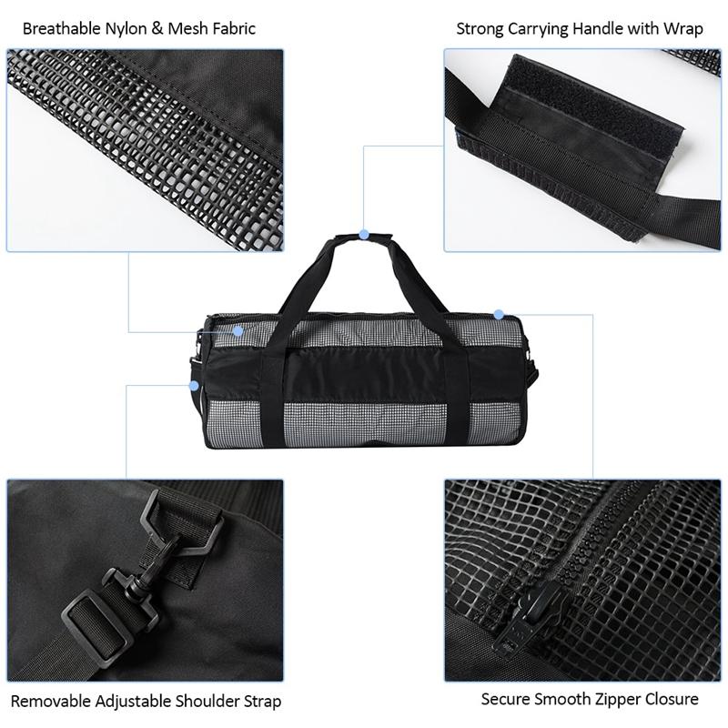 Outdoor-Diving-Equipment-Bag-Diving-Equipment-Bag-Collapsible-Net-Bag-Divin-V9K8 thumbnail 18