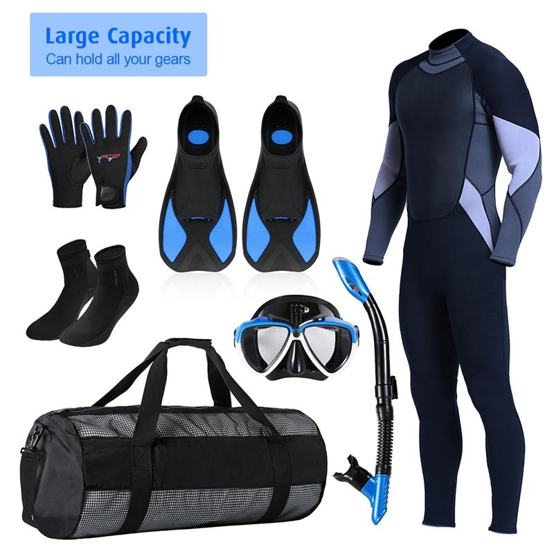 Outdoor-Diving-Equipment-Bag-Diving-Equipment-Bag-Collapsible-Net-Bag-Divin-V9K8 thumbnail 20