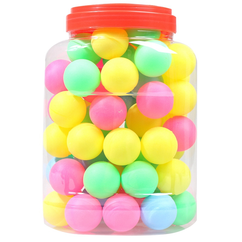 Details About Fine Quality Ping Pong Balls Assorted Wordless Table Tennis Plastic Ball Bu A3f6