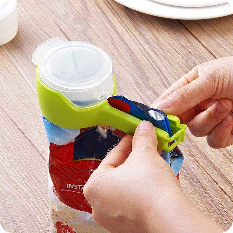 Househould Food Snack Storage Seal Pour Bag Clips Kitchen Tool F3I3 3