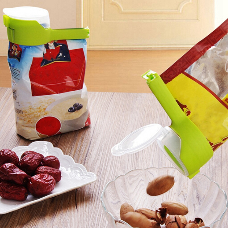Househould Food Snack Storage Seal Pour Bag Clips Kitchen Tool F3I3 6