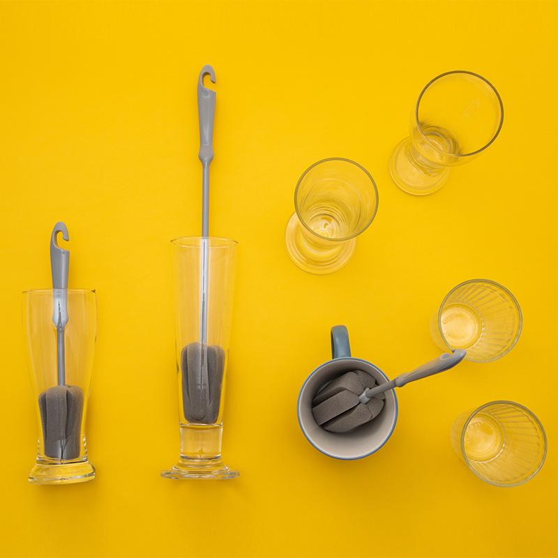 1-Pieza-Cepillo-De-Esponja-Limpieza-Lavado-De-Vidrio-De-Taza-Botella-De-Lec-R2O3 miniatura 3