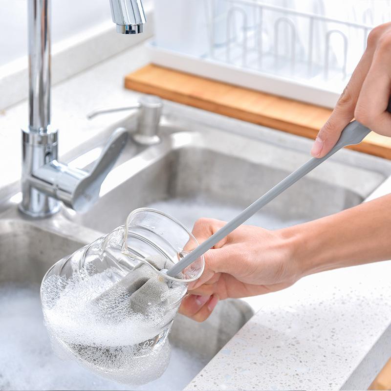 1-Pieza-Cepillo-De-Esponja-Limpieza-Lavado-De-Vidrio-De-Taza-Botella-De-Lec-R2O3 miniatura 5
