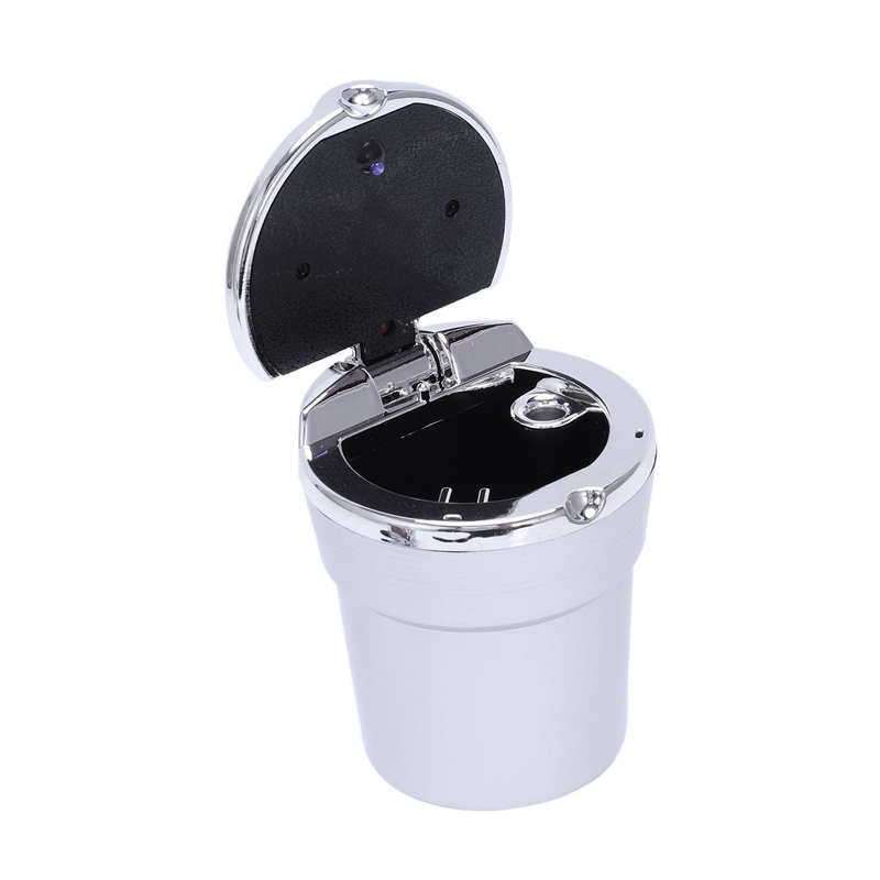 Car-Ashtray-With-Led-Light-Cigarette-Smoke-Travel-Remover-Ash-Cylinder-Car-R7P7 thumbnail 15