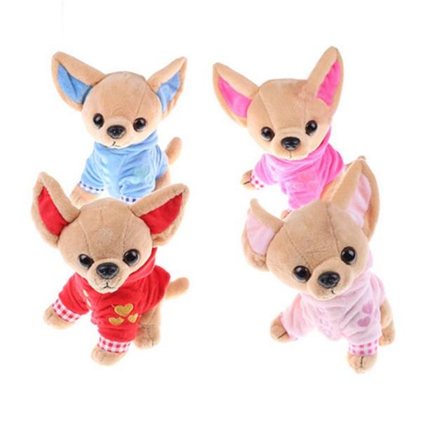 1-Pieza-17Cm-Perrito-Chihuahua-Juguete-Para-Ninos-Kawaii-Muneca-Animal-De-S-N2Q9 miniatura 3