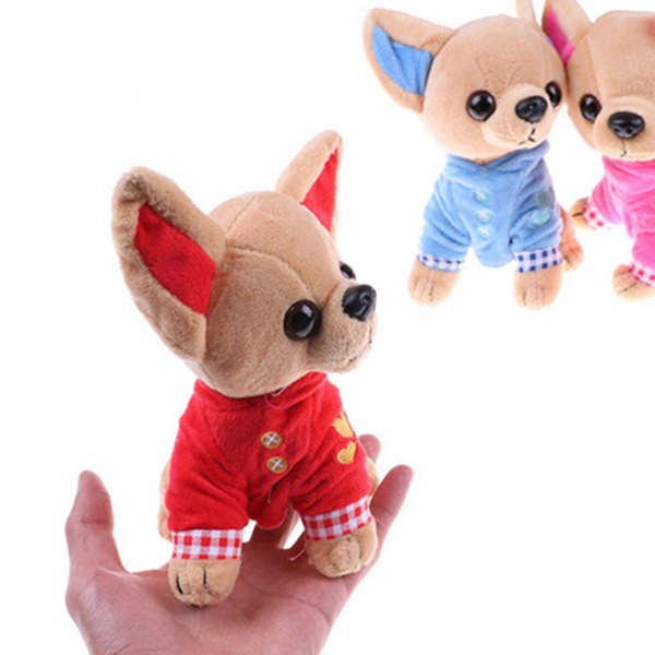 1-Pieza-17Cm-Perrito-Chihuahua-Juguete-Para-Ninos-Kawaii-Muneca-Animal-De-S-N2Q9 miniatura 4
