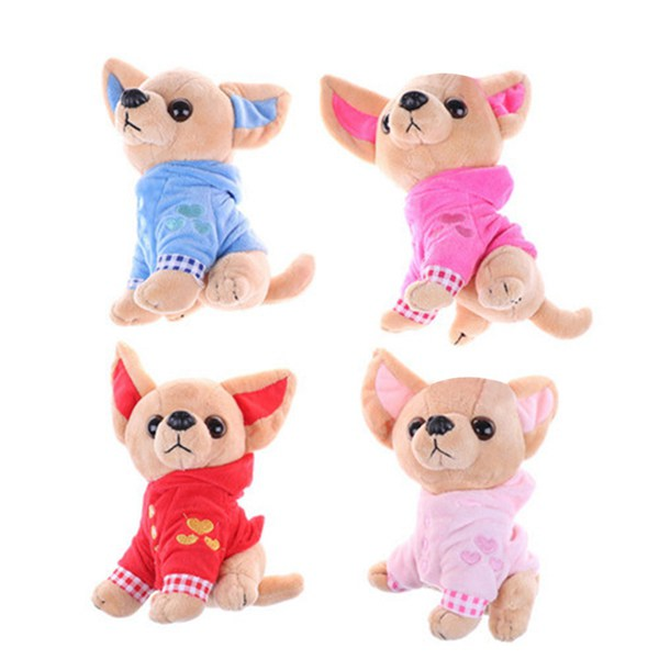 1-Pieza-17Cm-Perrito-Chihuahua-Juguete-Para-Ninos-Kawaii-Muneca-Animal-De-S-N2Q9 miniatura 7