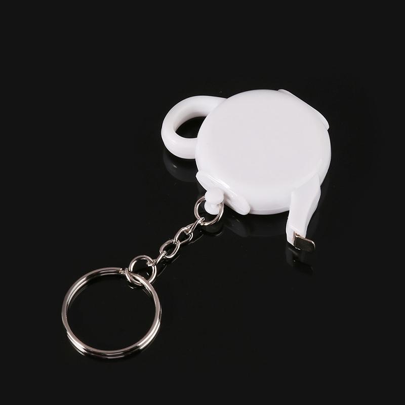 Mini-Portable-Keychain-Ruler-Steel-Tape-Measure-Creative-Sewing-Decorative-U5G5 thumbnail 6