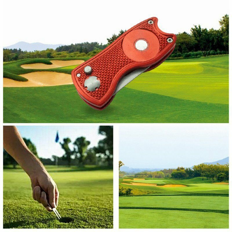 Foldable-Golf-Divot-Tool-Pitch-Groove-Cleaner-Golf-Training-Aids-Golf-Acces-A6L2 thumbnail 10