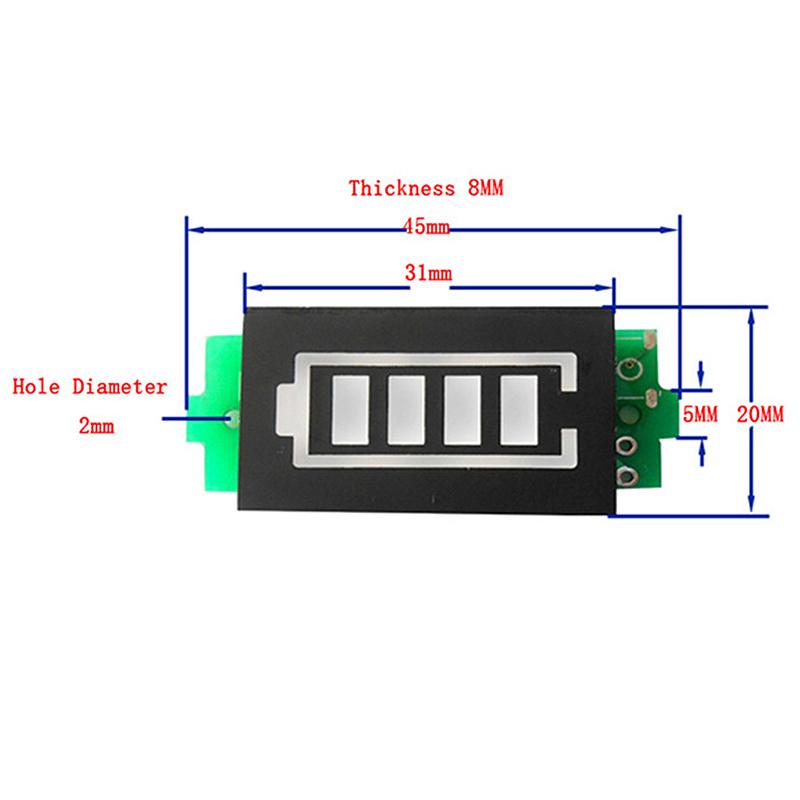 Lithium-Battery-Capacity-Indicator-Module-Blue-Display-Battery-Power-Tester-M5E2 thumbnail 6