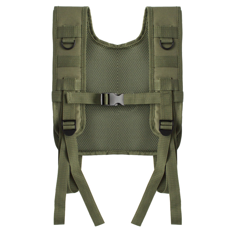 600D-Oxford-Sports-Vest-Molle-Combat-Assault-Plate-Carrier-Vest-Camouflage-E5S6 thumbnail 3