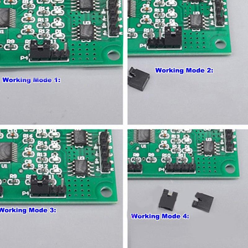 Dc 5V-12V 6V 2-Phase 4 Wire/4-Phase 5 Wire Micro-Dc Stepper Motor Driver Spe 6J5 4