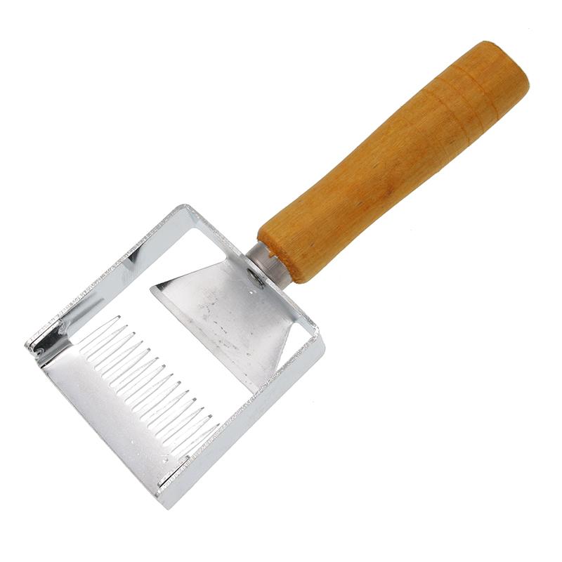 3X Teig Schaber Plastikgebaeck Butterschneider Backkuchen Dekorieren Kueche Q3N7