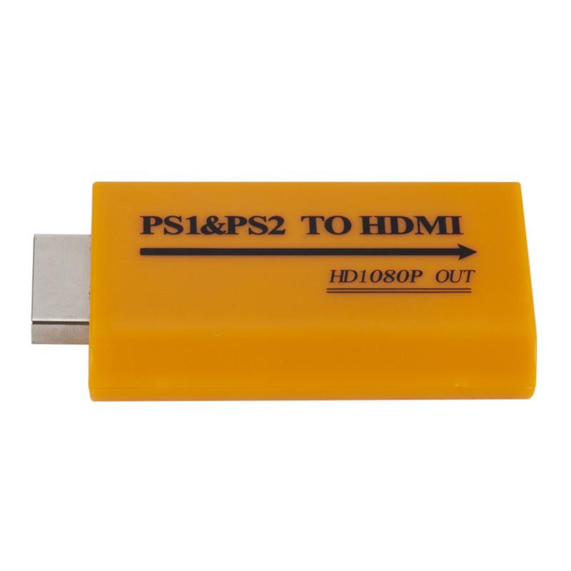 Per-Ps1-Ps2-Ad-Hdmi-Adattatore-Convertitore-Video-con-Uscita-di-Potenza-A-W4V6
