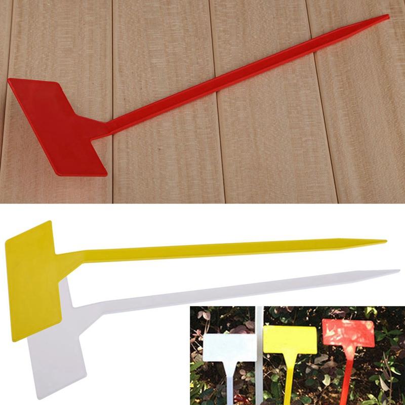 Gardens-Planting-Tools-50-Pcs-Bonsai-Plastic-Plant-Labels-Garden-Labels-T-T-B3Q7 thumbnail 7
