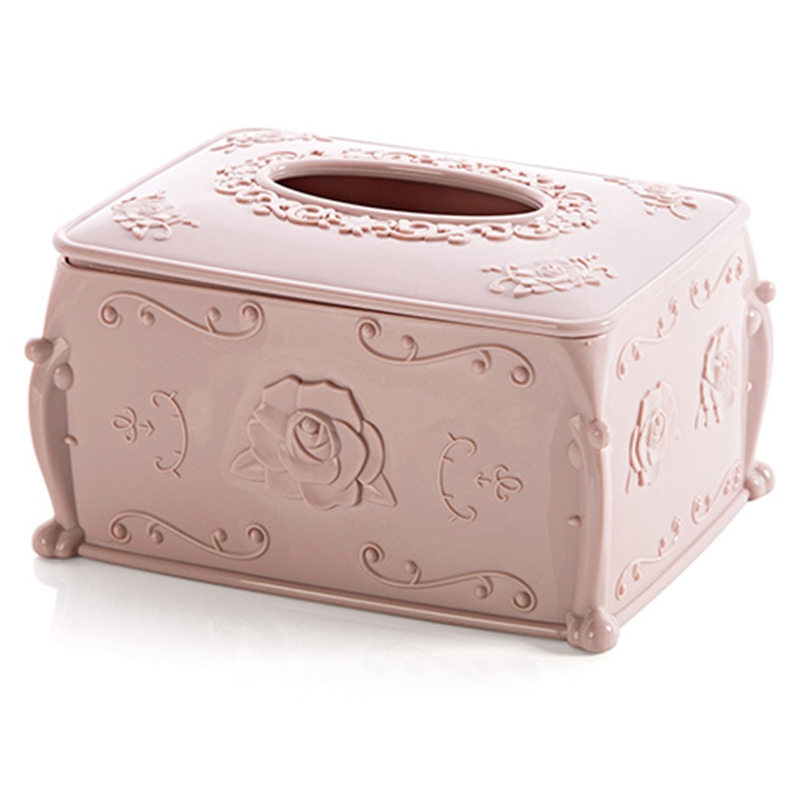 Details About Plastic Tissue Box Cover Napkin Storage Living Room Organizer Car Paper Z3v1
