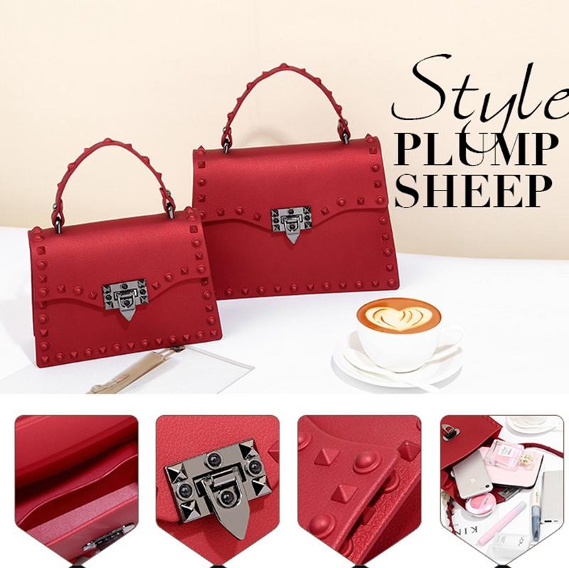 Neue-Frauen-Umhaenge-Tasche-Luxus-Handtaschen-Damen-Taschen-Designer-Gelee-T-B8R7 Indexbild 6