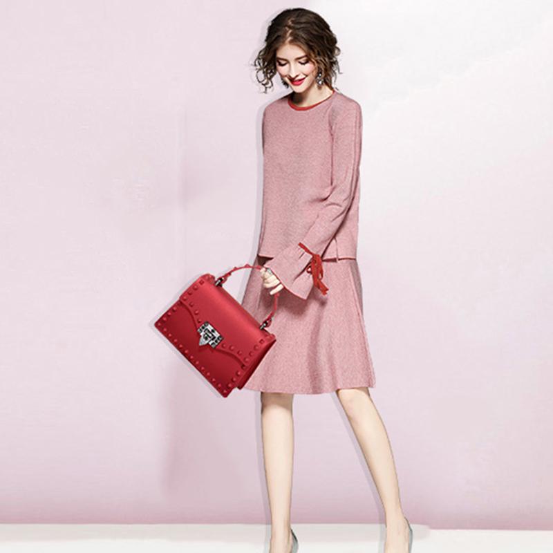 Neue-Frauen-Umhaenge-Tasche-Luxus-Handtaschen-Damen-Taschen-Designer-Gelee-T-B8R7 Indexbild 14