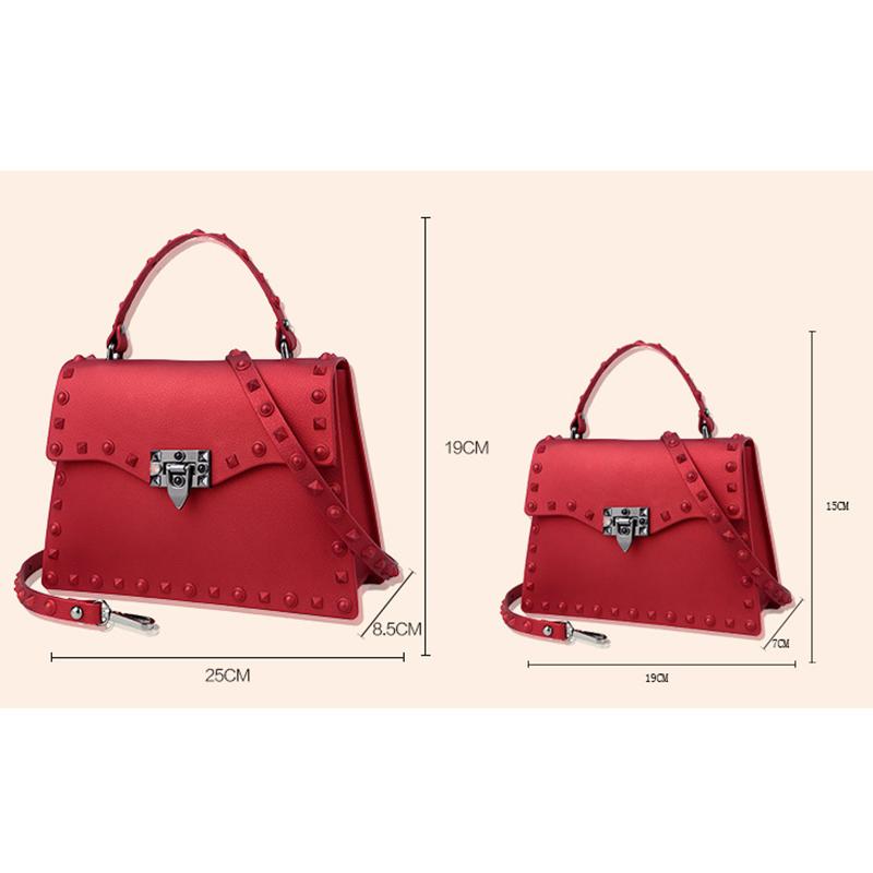 Neue-Frauen-Umhaenge-Tasche-Luxus-Handtaschen-Damen-Taschen-Designer-Gelee-T-B8R7 Indexbild 18