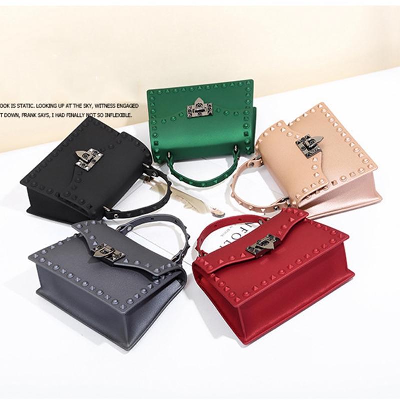 Neue-Frauen-Umhaenge-Tasche-Luxus-Handtaschen-Damen-Taschen-Designer-Gelee-T-B8R7 Indexbild 19