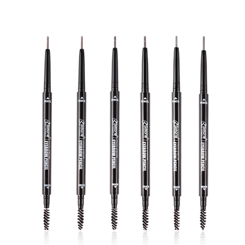 Bsimone Double Ended Eyebrow Pencil Waterproof Long Lasting No Blooming Rot P3A2