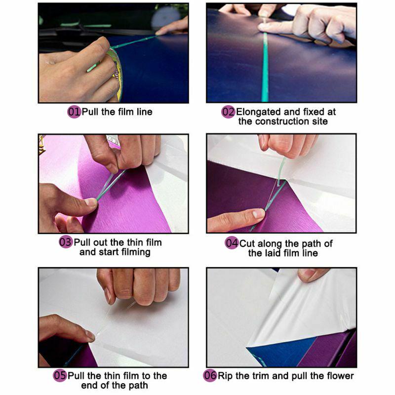 Auto-Messer-Schneiden-Tape-Fuer-Vinyl-Wrap-Schneide-Linie-Nadel-Streifen-O6V6 Indexbild 8
