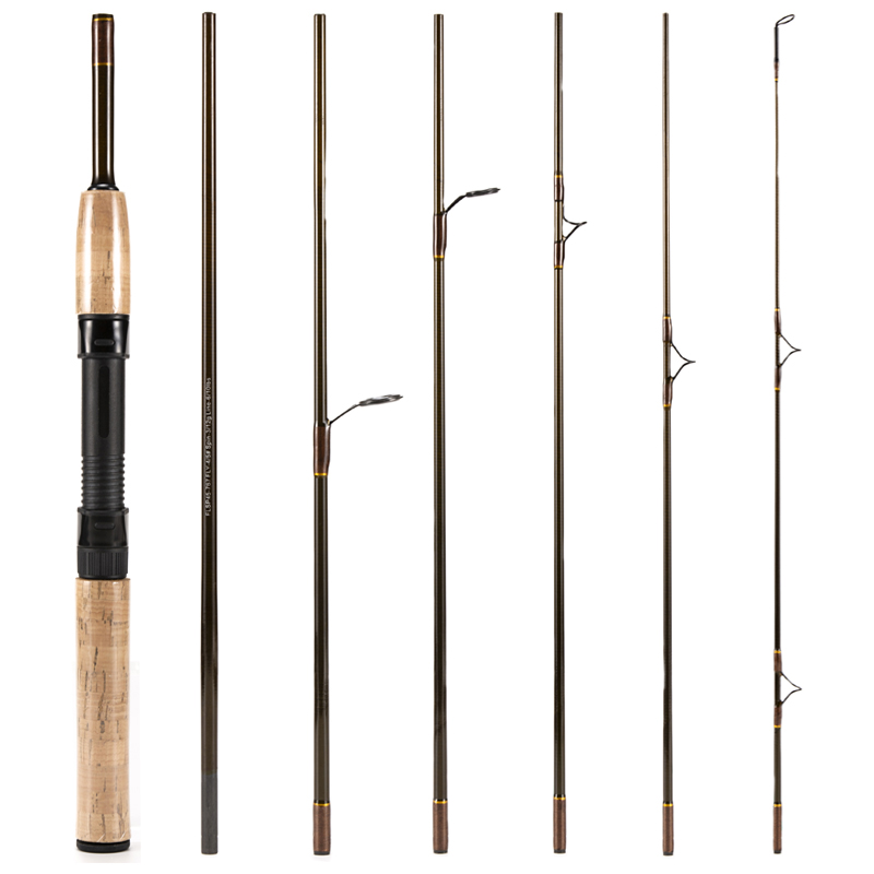 15X(7 Seccion Cambiable Caña De Pesca Con Mosca De voiturebono Y Ultraligero Ca 5K4)