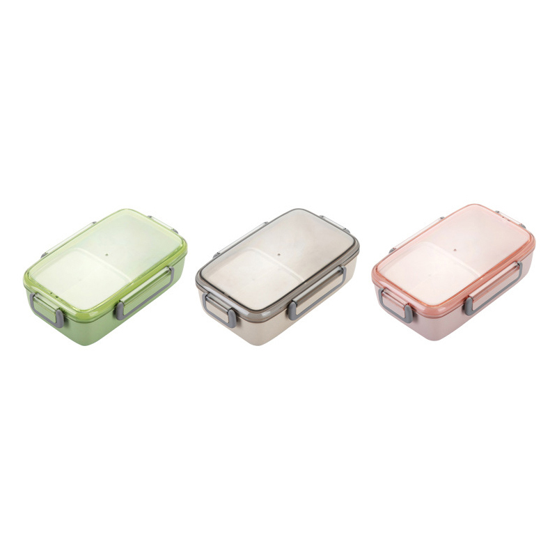 2X-Portable-Lunch-Box-Independent-Grid-Rectangular-Lunch-Box-Leakproof-Food7J8 thumbnail 9