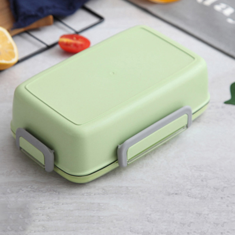2X-Portable-Lunch-Box-Independent-Grid-Rectangular-Lunch-Box-Leakproof-Food7J8 thumbnail 15
