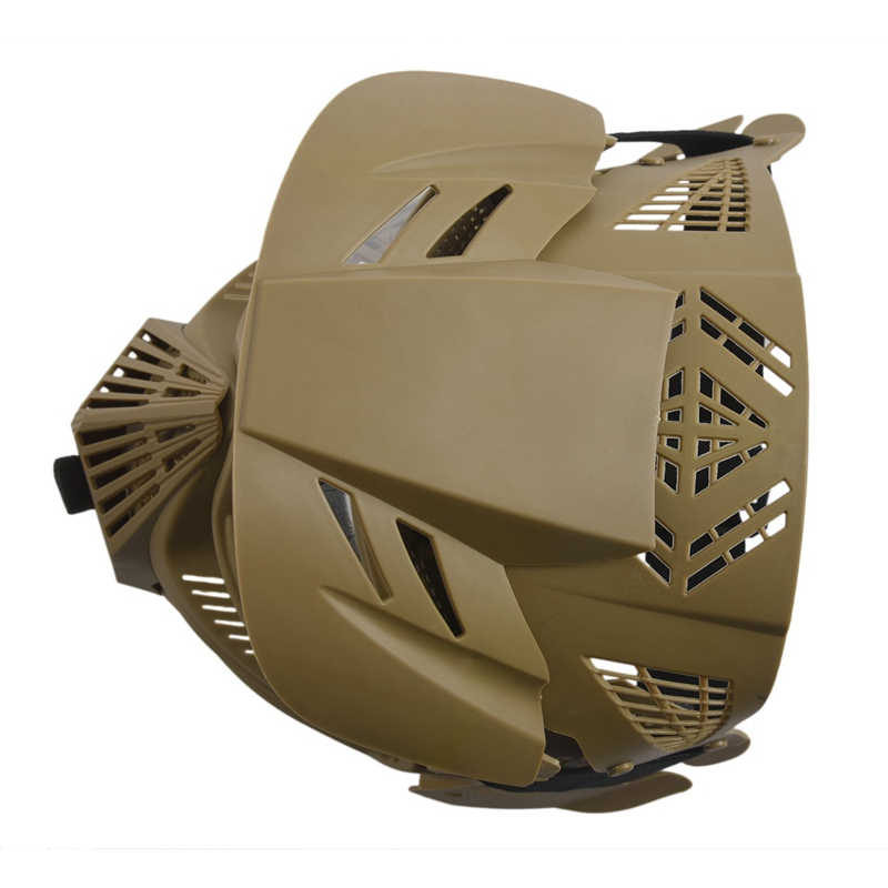 Tactical-Outdoor-Lens-Mask-Full-Face-Breathable-Cs-Hunting-Military-Army-Ai-W6M4 thumbnail 4