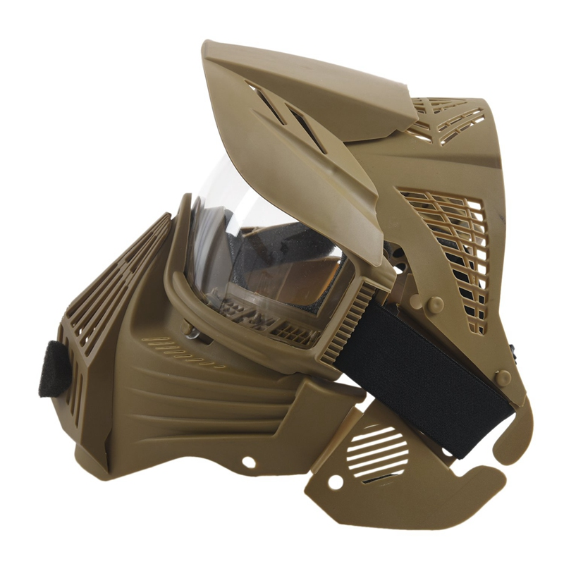 Tactical-Outdoor-Lens-Mask-Full-Face-Breathable-Cs-Hunting-Military-Army-Ai-W6M4 thumbnail 5