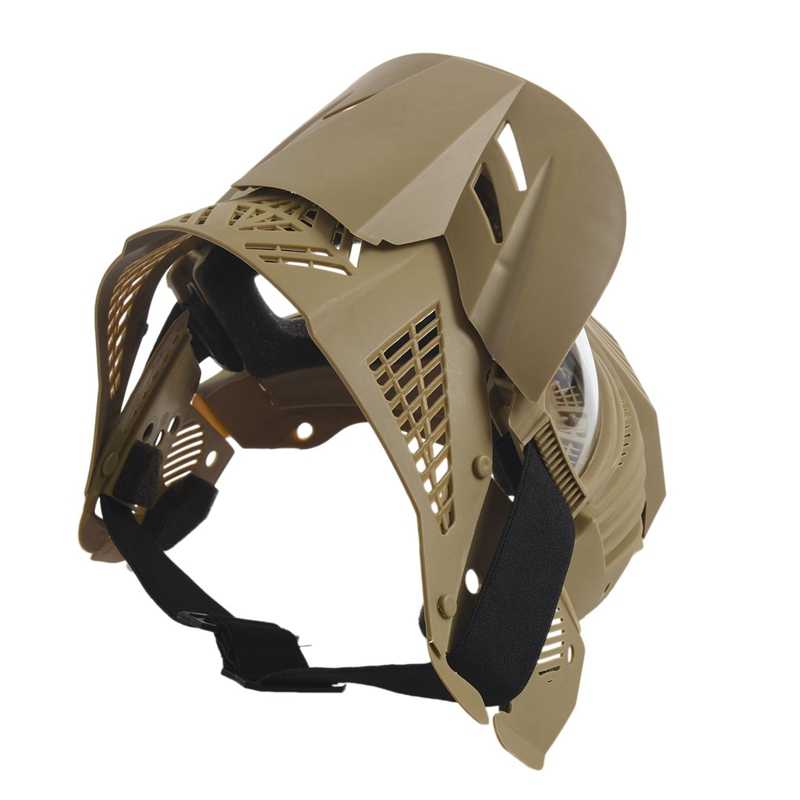 Tactical-Outdoor-Lens-Mask-Full-Face-Breathable-Cs-Hunting-Military-Army-Ai-W6M4 thumbnail 6