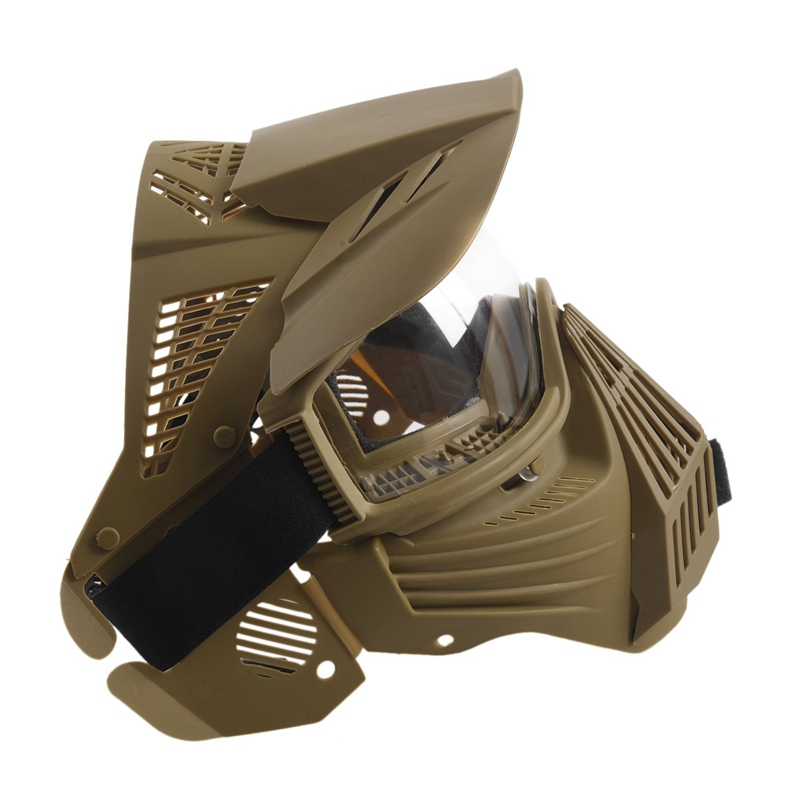 Tactical-Outdoor-Lens-Mask-Full-Face-Breathable-Cs-Hunting-Military-Army-Ai-W6M4 thumbnail 7