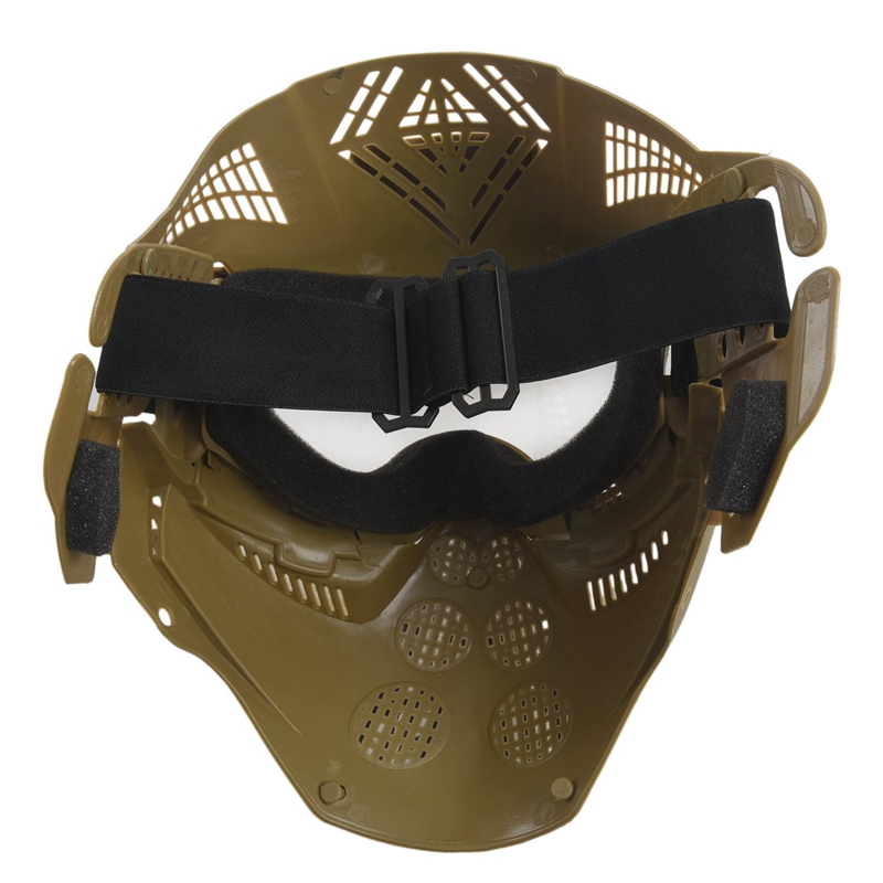 Tactical-Outdoor-Lens-Mask-Full-Face-Breathable-Cs-Hunting-Military-Army-Ai-W6M4 thumbnail 9