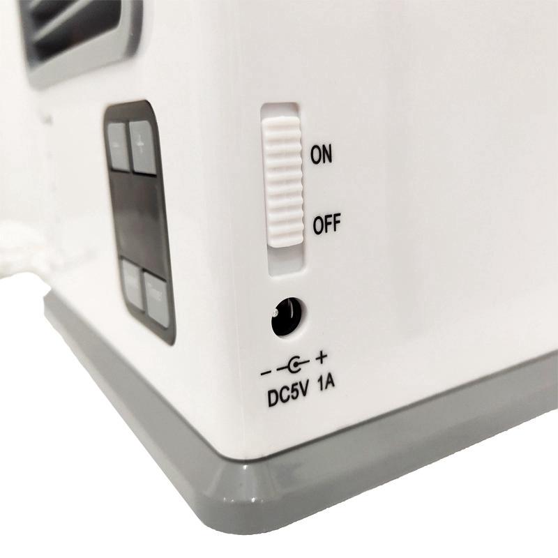 Usb-Battery-Refroidisseur-D-039-air-A-Double-Usage-Mini-Ventilateur-Portatif-Mi-Y7I4 miniature 2
