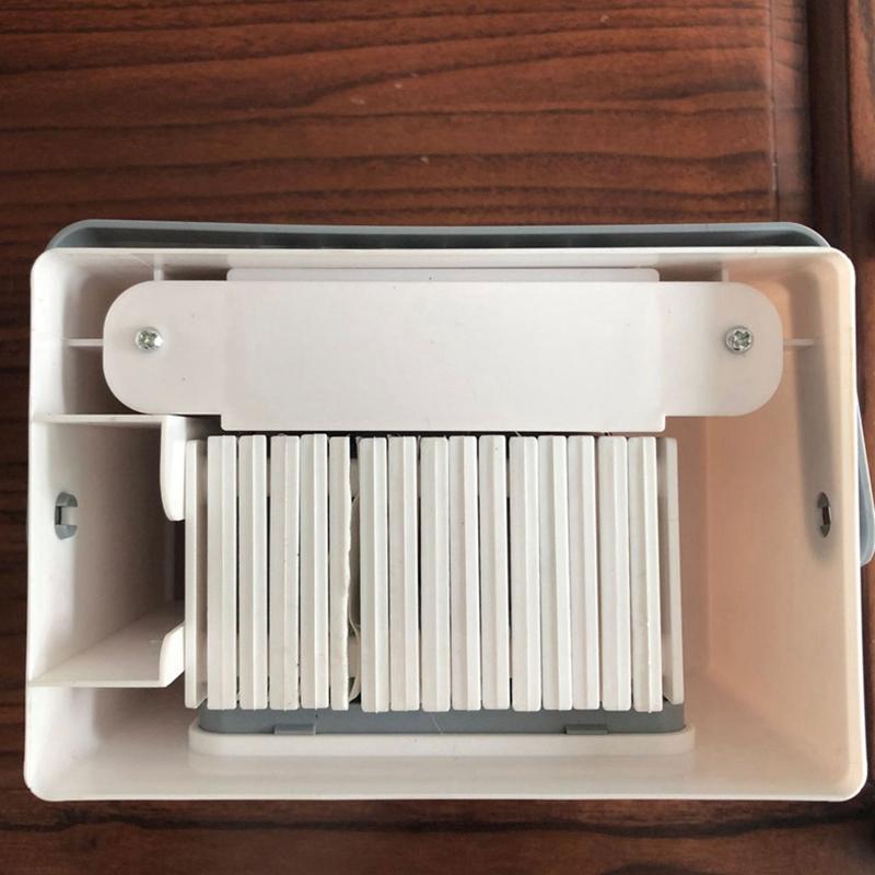 Usb-Battery-Refroidisseur-D-039-air-A-Double-Usage-Mini-Ventilateur-Portatif-Mi-Y7I4 miniature 7
