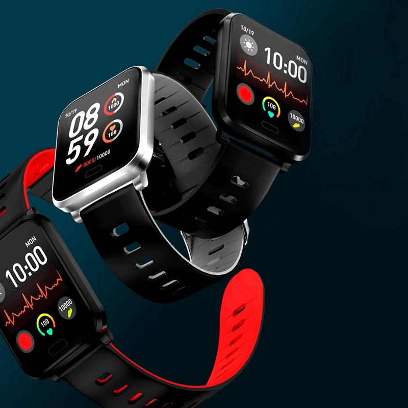 K10-Intelligente-Uhr-Bluetooth-Sport-Armband-Pulsmesser-Aussen-Schritt-Zaehle-J3L4 Indexbild 8