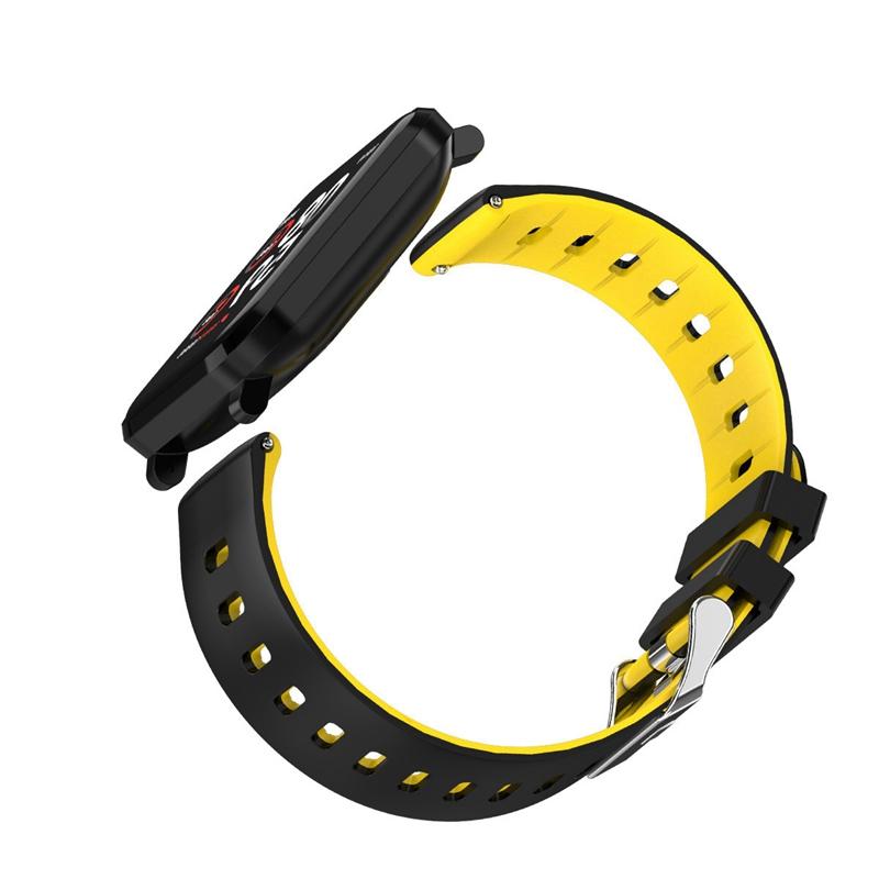 K10-Intelligente-Uhr-Bluetooth-Sport-Armband-Pulsmesser-Aussen-Schritt-Zaehle-J3L4 Indexbild 13