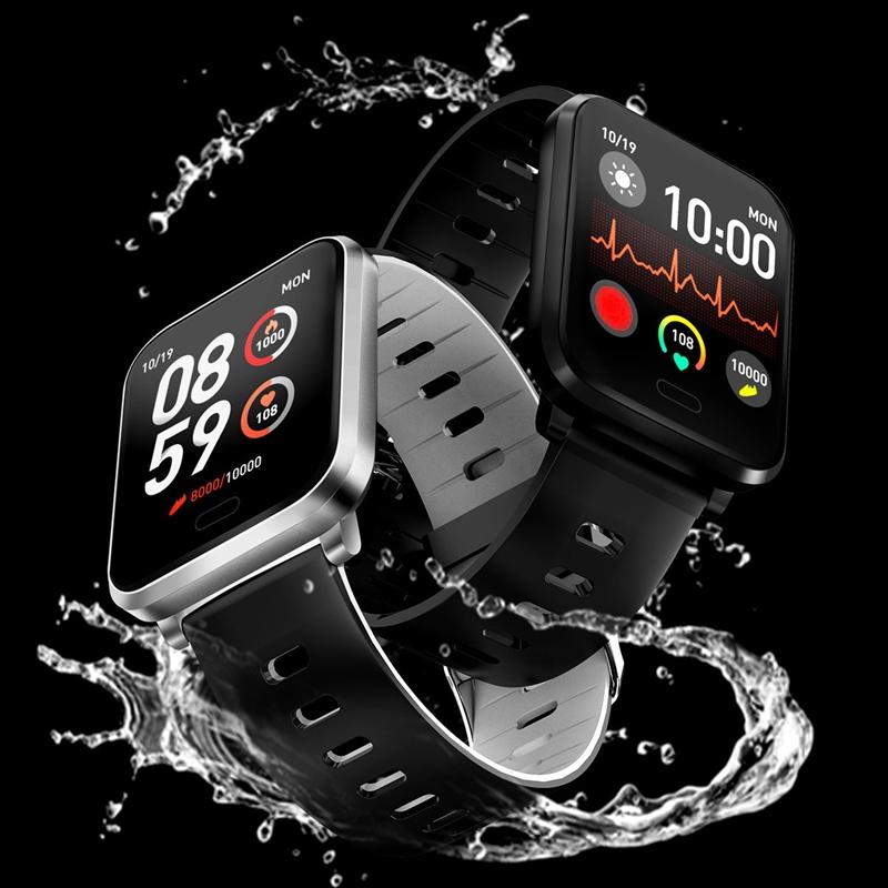 K10-Intelligente-Uhr-Bluetooth-Sport-Armband-Pulsmesser-Aussen-Schritt-Zaehle-J3L4 Indexbild 20