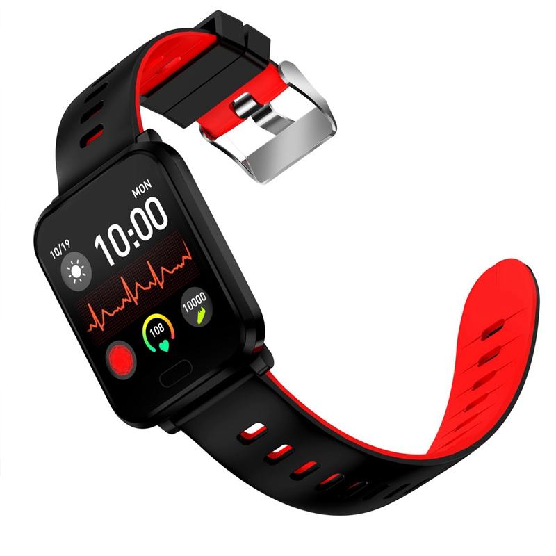 K10-Intelligente-Uhr-Bluetooth-Sport-Armband-Pulsmesser-Aussen-Schritt-Zaehle-J3L4 Indexbild 27