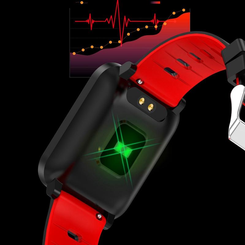 K10-Intelligente-Uhr-Bluetooth-Sport-Armband-Pulsmesser-Aussen-Schritt-Zaehle-J3L4 Indexbild 28