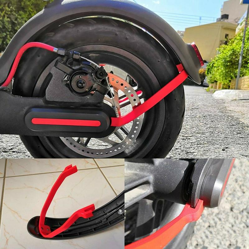 Soporte-De-Guardabarros-Trasero-Soporte-Rigido-Para-Scooter-Electrico-M7T9 miniatura 23